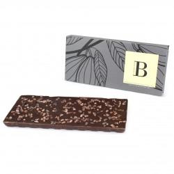 Eclats de fèves de cacao Noir