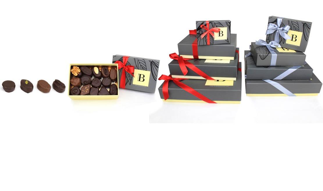 Ballotins de chocolats traditionnels